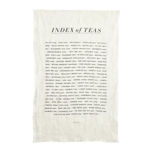 Sir/Madam - Tea List Linen Tea Towel
