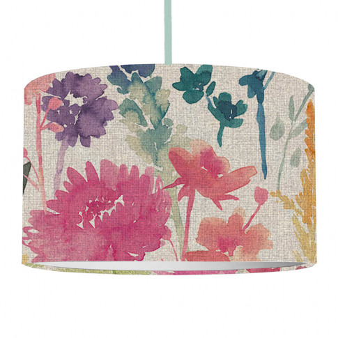 Bluebellgray - Peggy Linen Ceiling Lamp Shade - Large