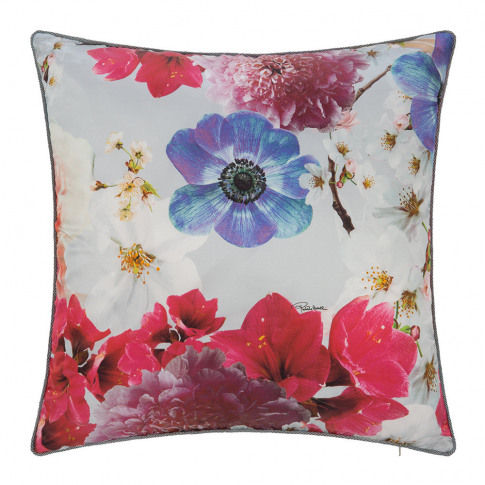 Roberto Cavalli - Nobuyoshi Silk Cushion - 40x40cm -...