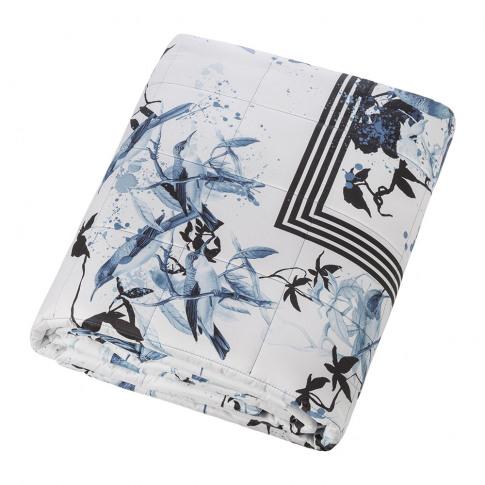 Roberto Cavalli - Bird Ramage Quilted Bedspread - 27...