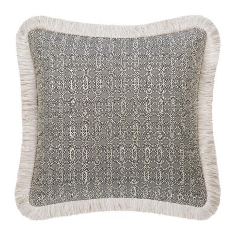 Roberto Cavalli - Platinum Cushion - Grey - 40x40cm