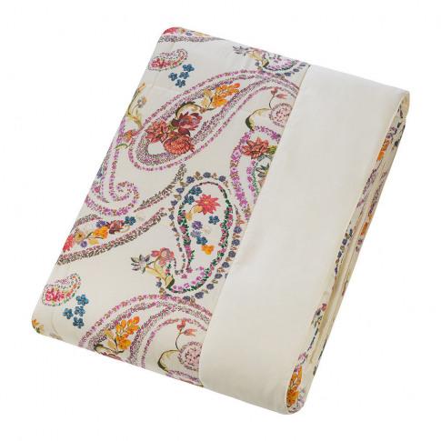Etro - Iris Quilted Bedspread - 270x270cm - White