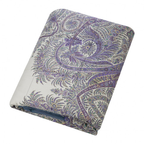 Etro - Colombara Quilted Bedspread - 270x270cm - Blue