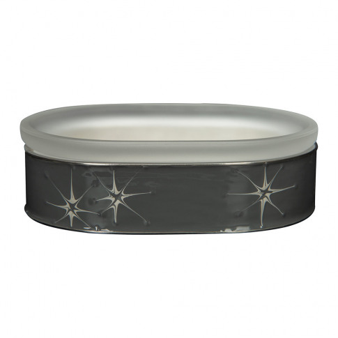 Mike + Ally - Polaris Soap Dish - Strorm/Silver