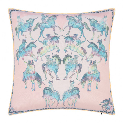 Silken Favours - Trippy Kitty Cushion