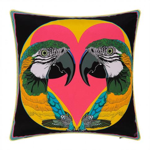 Silken Favours - Love Birds Cushion