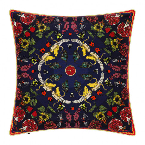 Silken Favours - Summer Violets Cushion - 45x45cm