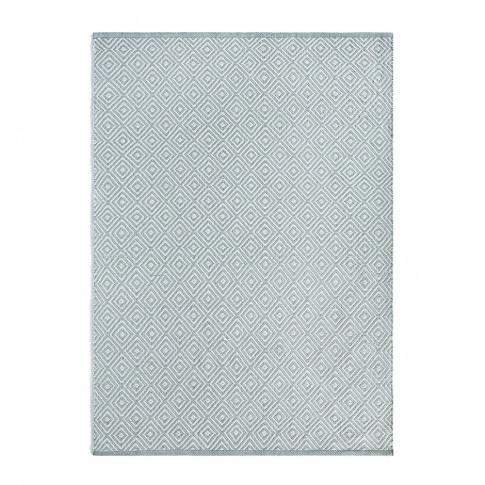 Hug Rug - Diamond 100% Recycled Rug - Sky Grey - 80x...