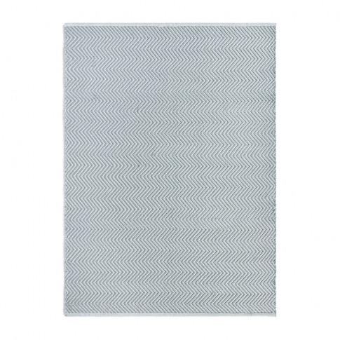 Hug Rug - Herringbone 100% Recycled Rug - Sky Grey - 120x170cm