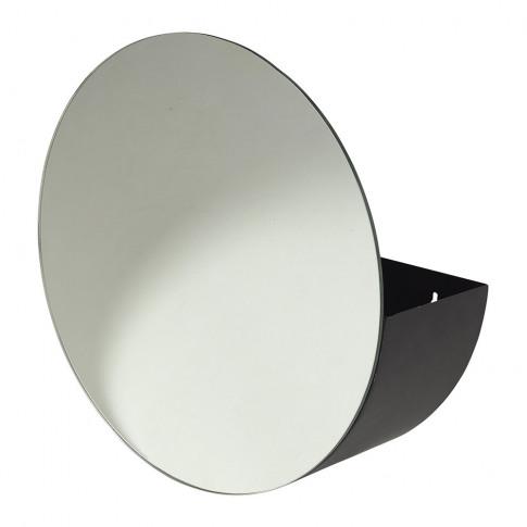 Broste Copenhagen - Storage Mirror - Black/Clear
