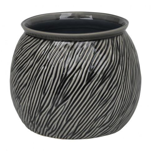 Broste Copenhagen - Sandy Stoneware Flowerpot - Smok...