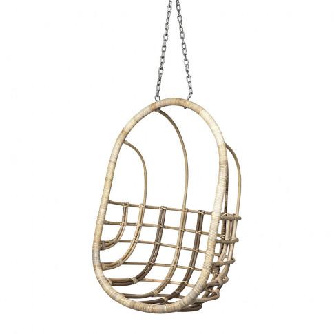 Broste Copenhagen - Egg Rattan Hanging Chair