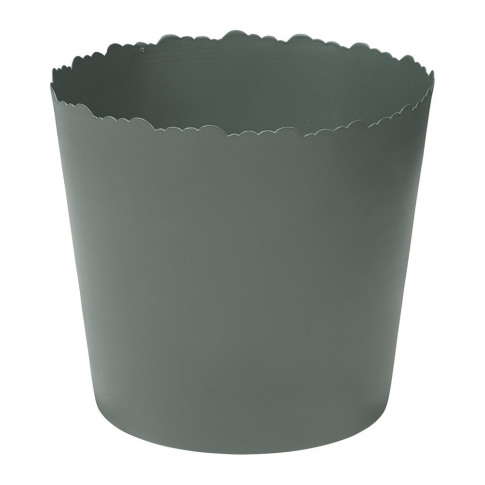 Broste Copenhagen - Skylar Iron Flowerpot - Smoke Pine