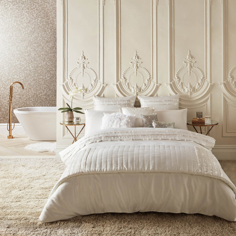 Kylie Minogue At Home - Bardot Duvet Cover - Oyster ...
