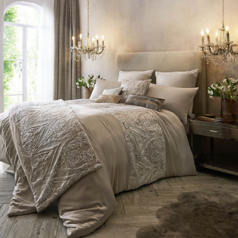 Kylie Minogue At Home - Savoy Duvet Cover - Blush - ...