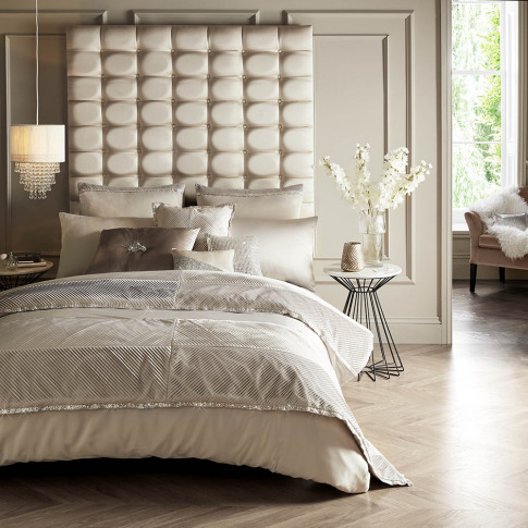 Kylie Minogue At Home - Zina Duvet Cover - Praline -...