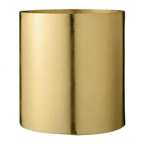 Bloomingville - Gold Iron Flowerpot - Large