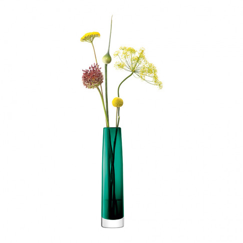 Lsa International - Stems Vase - Marine Green - 30cm