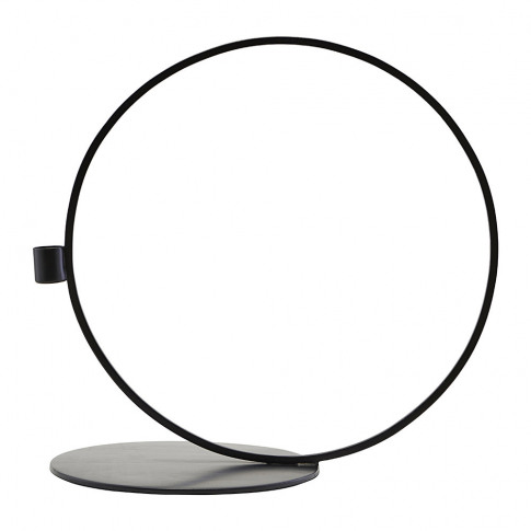House Doctor - Cirque Candle Holder - Black - 33cm