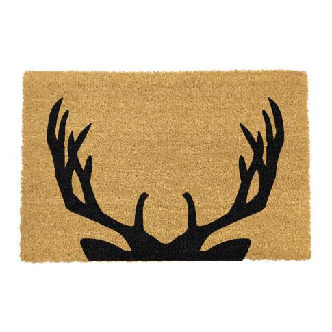 Artsy Doormats - Stag Antlers Door Mat