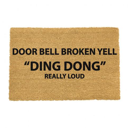Artsy Doormats - Ding Dong Door Mat