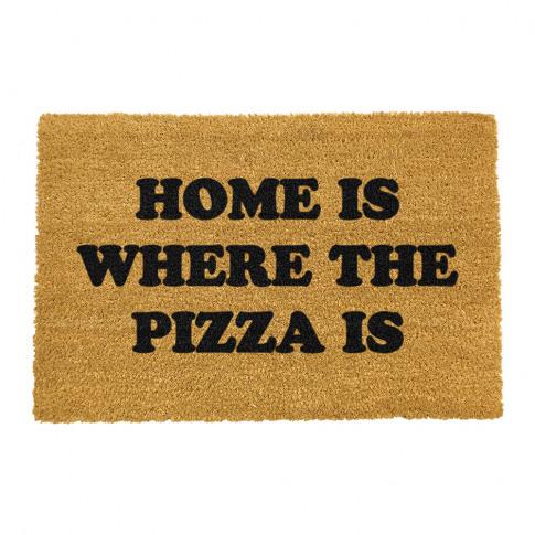 Artsy Doormats - Home Is Where The Pizza Is Door Mat