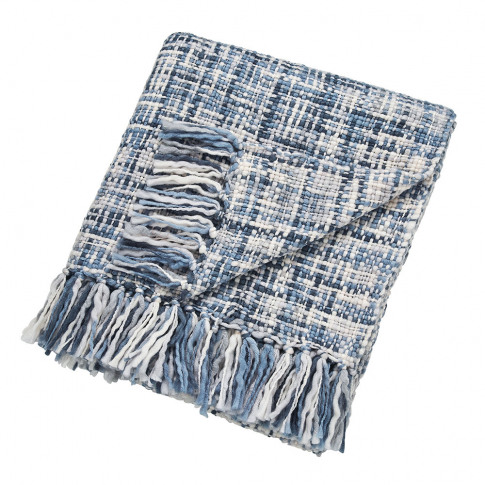 Scion - Usoko Knitted Throw - Blue - 130x180cm