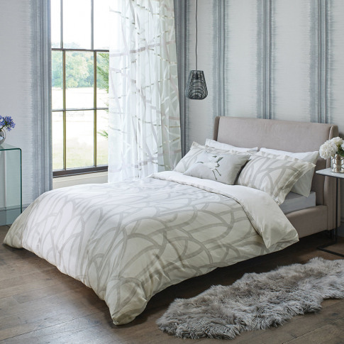 Harlequin - Meso Duvet Cover - Oyster - Single