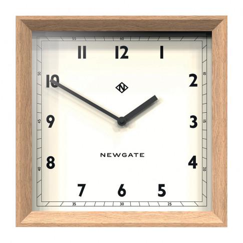 Newgate Clocks - Old Joe Wall Clock - Solid Oak