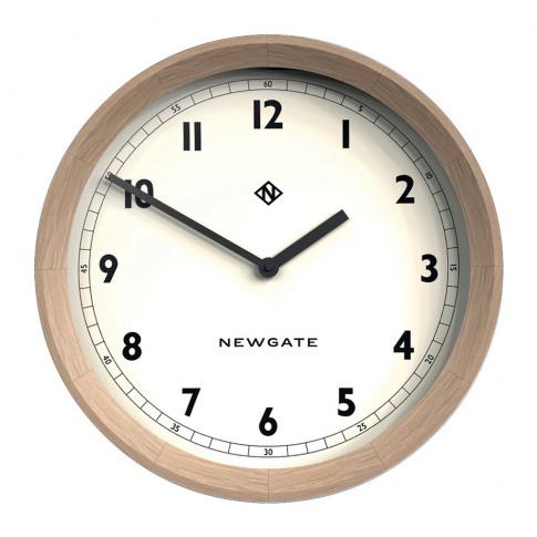 Newgate Clocks - The General Wall Clock - Solid Oak
