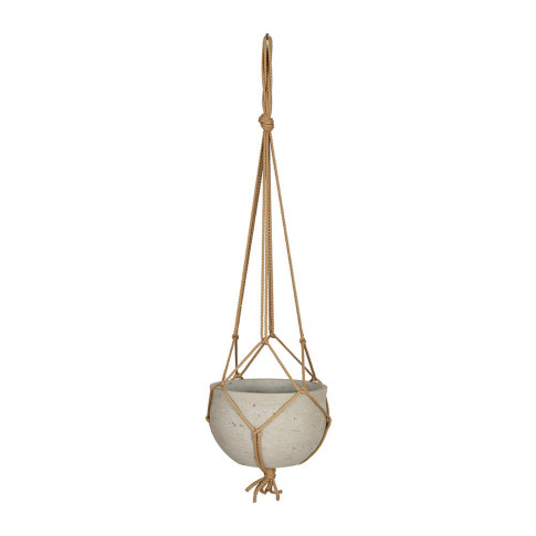 Garden Trading - Stratton Hanging Pot - Stone