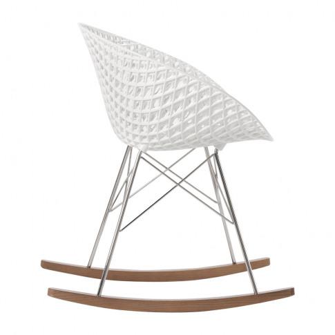 Kartell - Matrix Rocking Chair - White/Chrome
