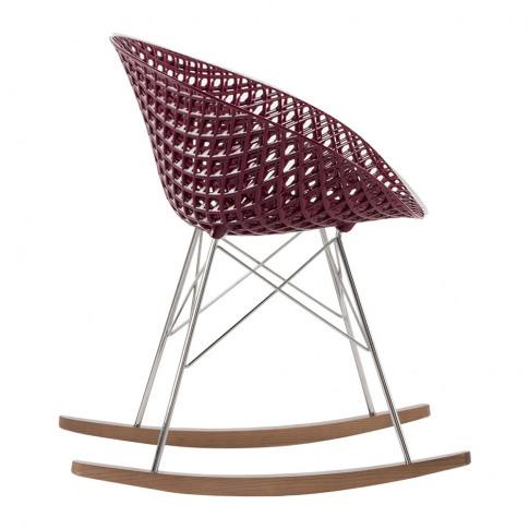 Kartell - Matrix Rocking Chair - Plum/Chrome