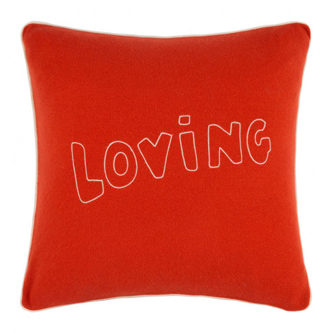 Bella Freud - Loving Cushion - Red