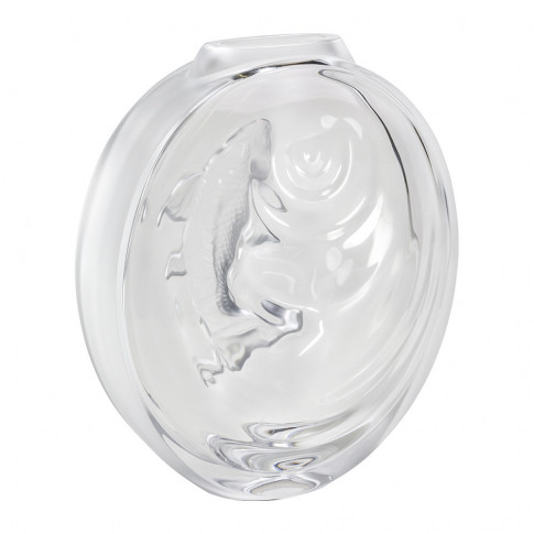 Lalique - Fish Bud Vase - Clear