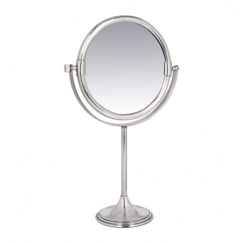 A By Amara - Freestanding Mirror - Silver