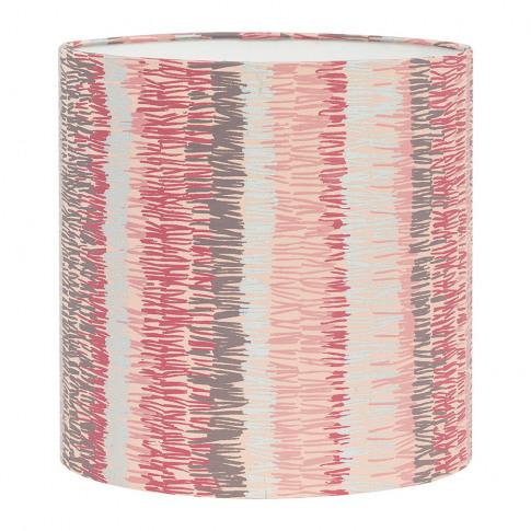 Clarissa Hulse - Textured Stripe Lamp Shade - Oyster...