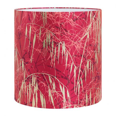 Clarissa Hulse - Three Grasses Lamp Shade - Hot Pink...
