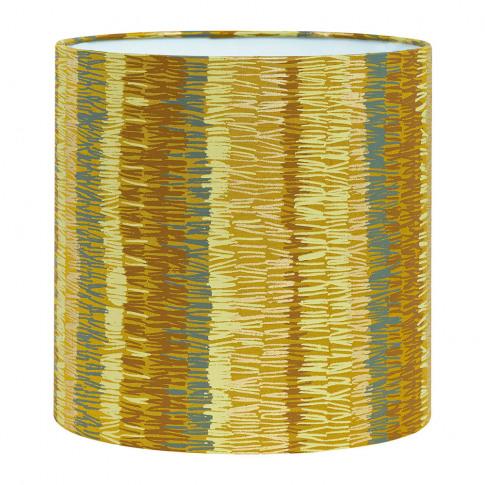 Clarissa Hulse - Textured Stripe Lamp Shade - Turmer...