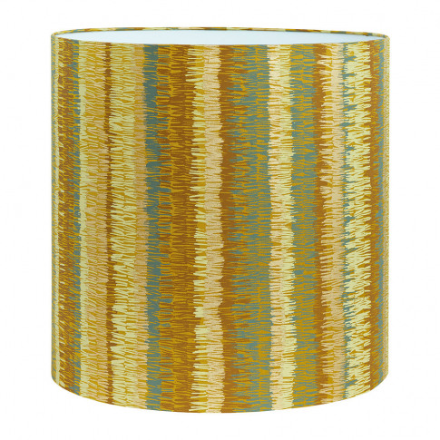 Clarissa Hulse - Textured Stripe Lamp Shade - Turmeric - Large