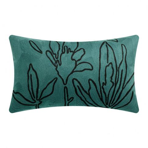 Vivaraise - Anime Flora Cushion - Aqua - 30x50cm