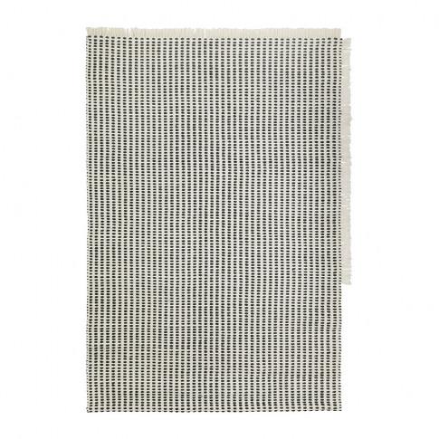 Ferm Living - Way Rug - Off White/Blue - 140x200cm