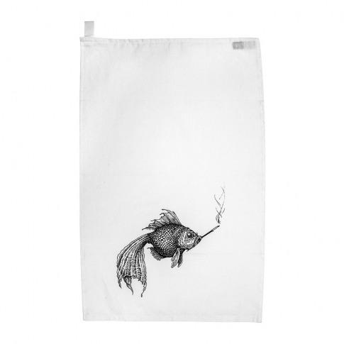Rory Dobner - Terrific Tea Towels - Smokey Fish