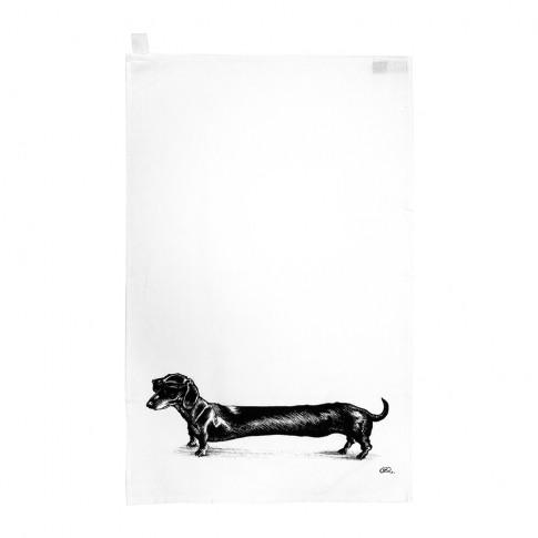 Rory Dobner - Terrific Tea Towels - Hot Dog