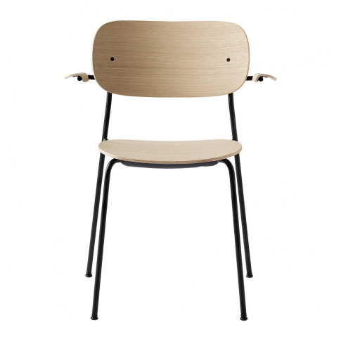 Menu - Co Chair Dining Chair With Arms - Natural Oak