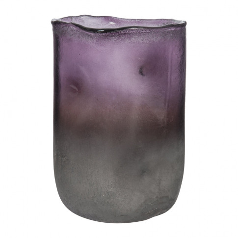 A By Amara - Purple Ombre Melted Vase - Small