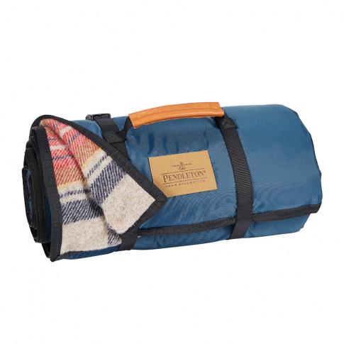 Pendleton - Roll Up Blanket - Vintage Dress Stewart