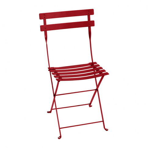 Fermob - Bistro Metal Garden Chair - Poppy
