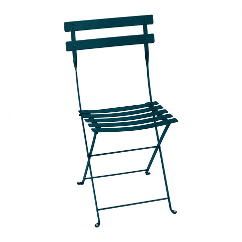 Fermob - Bistro Metal Garden Chair - Acapulco Blue