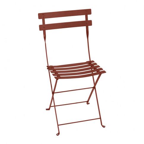 Fermob - Bistro Metal Garden Chair - Red Ochre